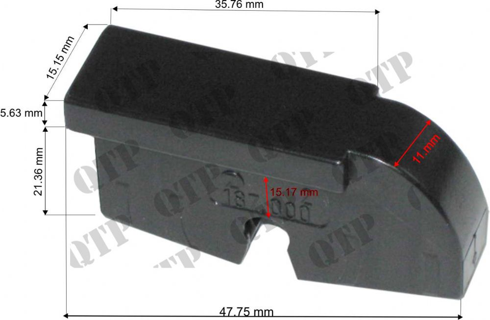 Adaptor for Wiper Blade Ford 60 TM TS (Front)